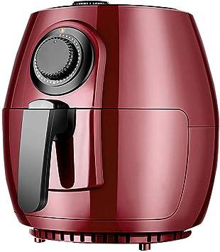 Aire freidora con circulación rápida de aire del sistema y Botón portátil, de 30 minutos de temporizador y control de temperatura ajustable Mini Horno for la sana libre de aceites de baja