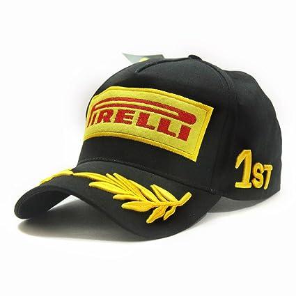 Buy YourShoppingCube Baseball Cap Ferrari Formula 1 Racing F-1 Pirelli  Podium MotoGP Bike Sports (Black 321e9a20778