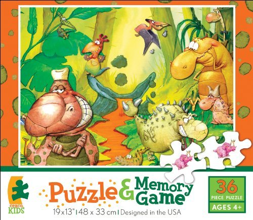 Ceaco Puzzle & Memory Game Dinoville by Ceaco