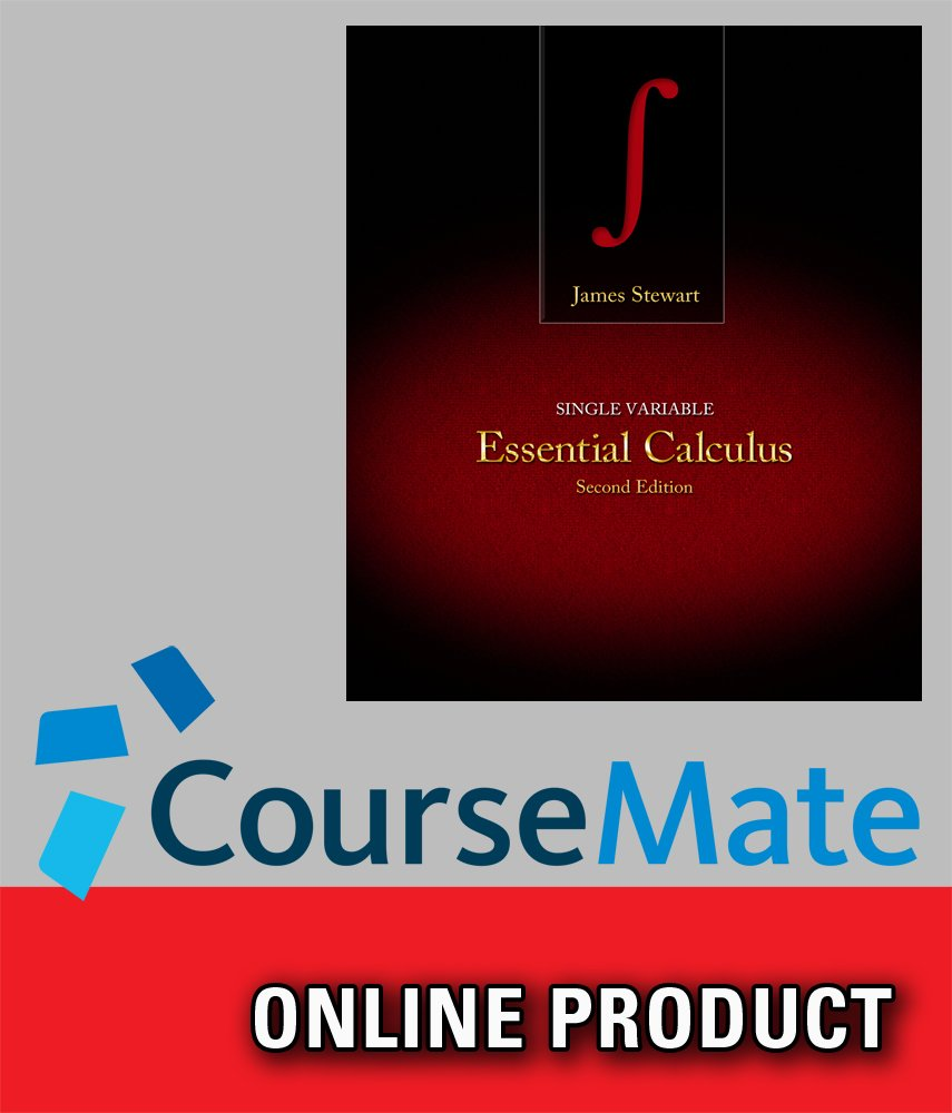 Amazon.com: CourseMate for Stewart's Essential Calculus, 2nd Edition:  Software