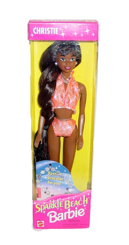old school barbie — Sparkle Beach Christie, Barbie, Kira and Teresa... | 1500x791