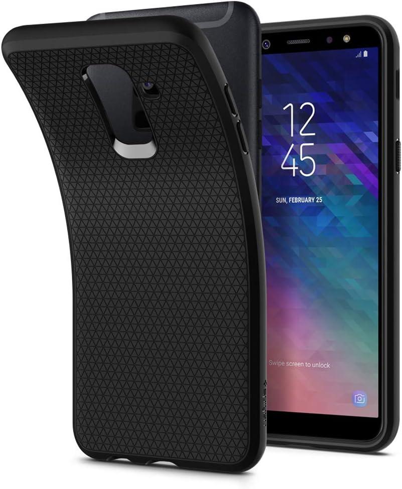 Spigen [Liquid Air Funda Galaxy A6 Plus (2018) con Durable Flex y ...
