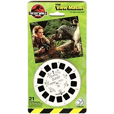 ViewMaster The Lost World Jurassic Park: Toys & Games [5Bkhe0501466]