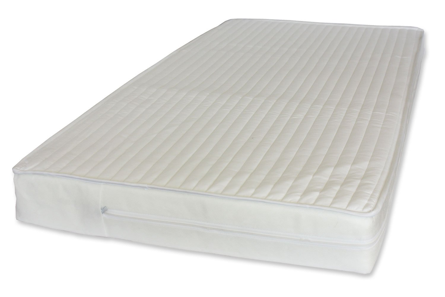 NightyNite Pocket Sprung Cot Mattress with Luxury Microfiber (132 x 77 x 10 cm) NIghtyNite® RECLM6