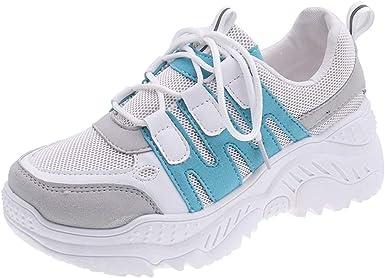 Luckycat Zapatillas de Mujer Zapatos de Corriendo Calzado Casual y ...
