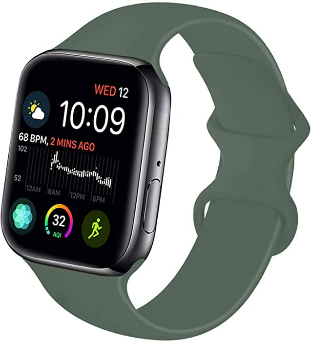 The Best Dark Green Apple Watch Band 42Mm