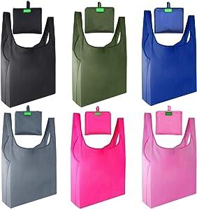 Gogooda Reusable Grocery Bags 6 Pack