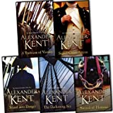 img - for Alexander Kent Richard Bolitho 5 Books Collection Pack Set RRP:   44.95 (Sword Of Honour, Signal Close Action, A Tradition Of Victory, The Darkening Sea, Stand Into Danger) book / textbook / text book