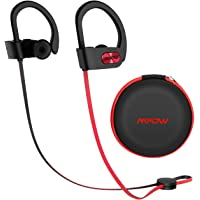 Mpow Flame [Upgraded] Bluetooth Headphones with Case, Bassup Technology HiFi Stereo in-