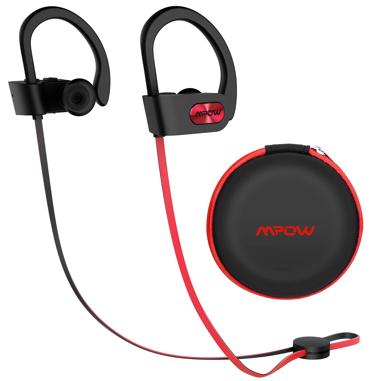 Mpow Flame Upgraded Bluetooth Headphones with Case, IPX7 Waterproof Earphones Sport W/Mic, 7-9 Hrs Playing time, in-Ear Wireless Earbuds W/Rich Bass & HiFi Stereo, Running Headphones for iOS Android