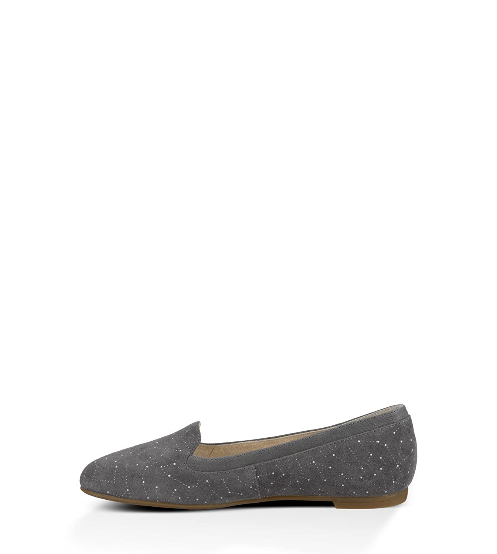 6bf188379ac UGG Australia Women's Bentlie Constellation Granite Suede Flats Shoe ...