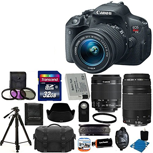 EOS Rebel T5i 18.0 MP CMOS Digital Camera HD Video with EF-