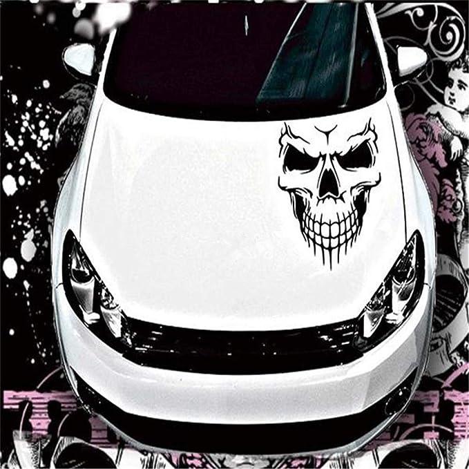 Spare Tire Cover Spare Wheel Cover Sticker Skull Car Decal Car Sticker Wheel Cover Skin Decal R5 Horror Sticker Wheel Vinyl Decals