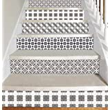 Vinyl Decal Strips for Stair Risers - Peel and Stick - Self Adhesive Sticker - Home Decor DIY - Pack of 5 Strips