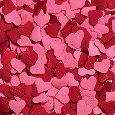 Wilton Jumbo Heart Sprinkles - 3 25 oz