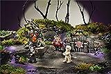 Giftcraft 5 Pc Set of Halloween Miniature Figurines for Fairy Garden Display