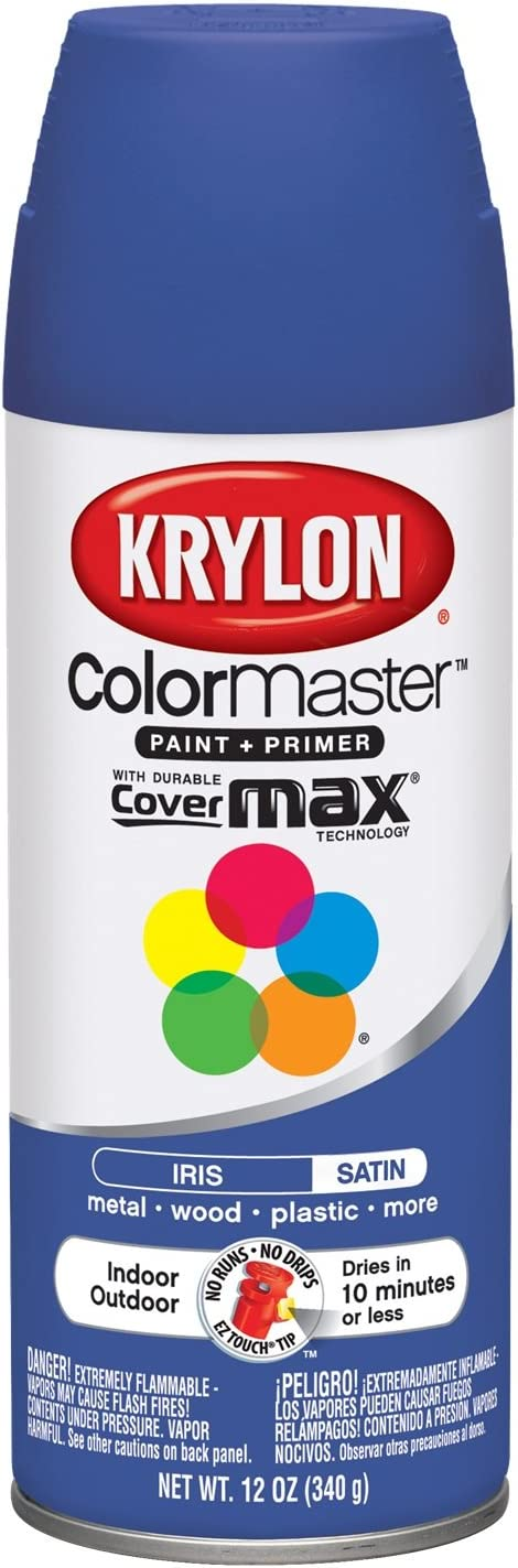 Krylon ColorMaster Satin Paint + Primer