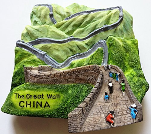 The Great Wall CHINA High Quality Resin 3D fridge Refrigerator Thai Magnet Hand Made Craft.