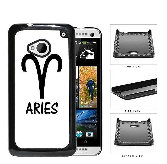 Amazon Aries Horoscope Sign Symbol Black And White Hard Snap On