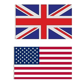 ILOVEFANCYDRESS UNION JACK FLAG AND UNITED STATES