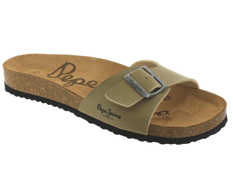 Pepe jeans Sandales  ref_pep36932-marine Marine - Chaussures Sandale