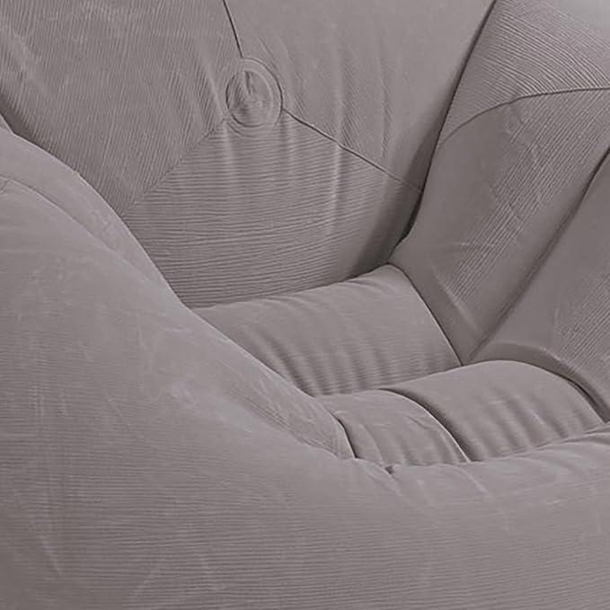 Amazon.com: Silla de salón hinchable con diseño de corduro ...