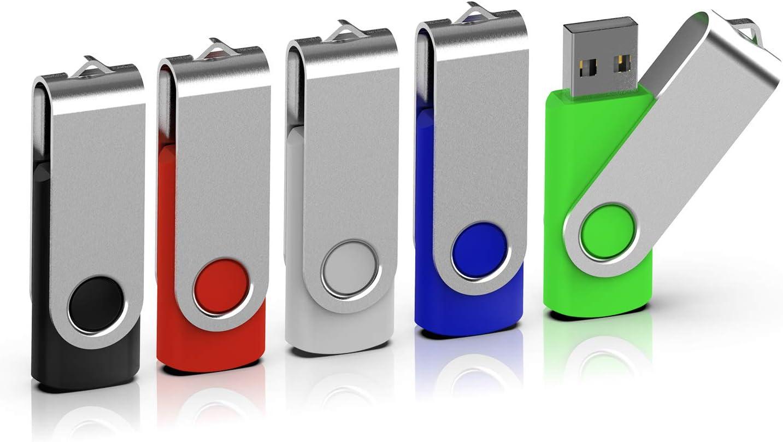 Topesel 5 Stück Usb Stick 8gb Memory Sticks Usb 2 0 Computer Zubehör