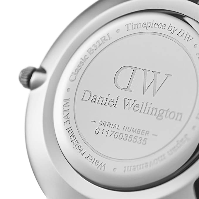 Daniel Wellington Reloj Digital para Mujer de Cuarzo con Correa en Acero Inoxidable DW00100162: Amazon.es: Relojes