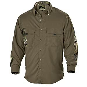 Fishouflage Split Rock Vented Angler Shirt