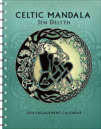 Celtic Mandala 2016 Calendar (Merry Christmas To My Best Friend Card)