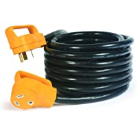 Camco 55191 25-Feet 30-Amp PowerGrip Electrical Power Cord With Handle