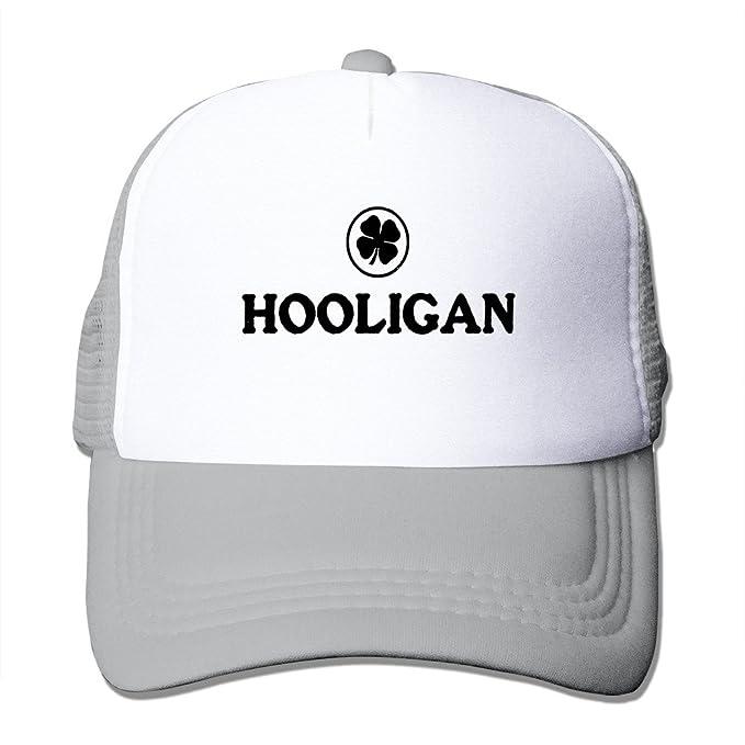aab405ac94e Hooligan Irish Beer Ireland Soccer Rugby Caps Unisex Sports Baseball Hat  (Many Colors)