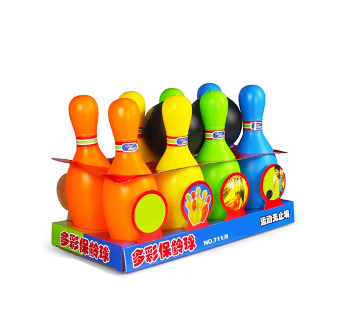 ボーリングおもちゃ子供Largeインドアとアウトドア親子相互作用ベビーボールおもちゃ2 – 3 - 5 Years Old Boy   B075371GBY