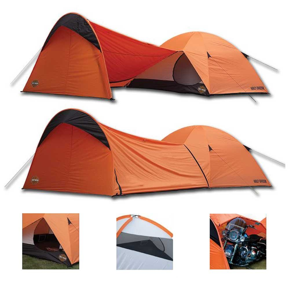 Harley-Davidson Rideru0027s 4-Person Motorcycle Dome Tent  sc 1 st  Sleeping With Air & The Best Tent For Motorcycle Camping | Sleeping With Air