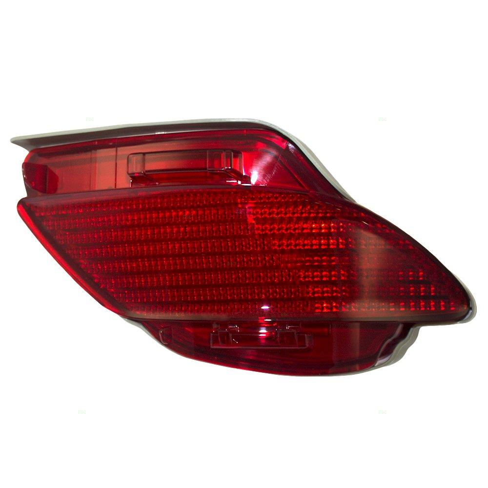 Passengers Rear Signal Side Marker Light Lamp Lens Replacement for Lexus RX350 RX450h Canada Japan 81480-0E010 LX2861103 AutoAndArt
