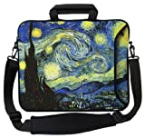 "Designer Sleeves 17"" Starry Night Executive Laptop Case"