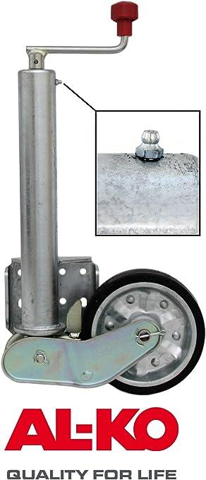 P4u Al Ko Automatik Stützrad Schwerlast 500 Kg Pkw Anhänger Trailer Rad 200x50mm Alko Nummer 1212382 Auto