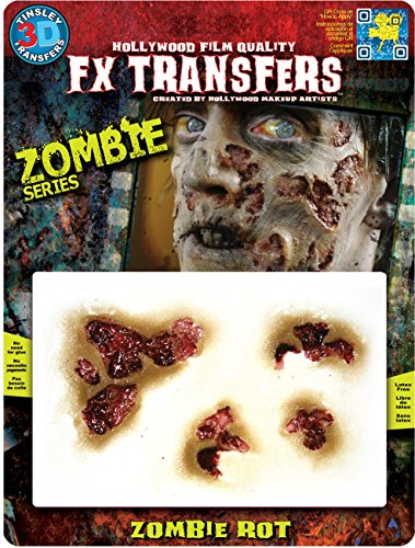 Tinsley Transfers  Zombie Rot, Flesh/Multi, One Size]()