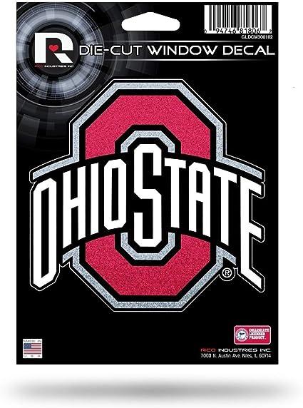 NCAA Ohio State Buckeyes 16-Inch Plastic Street Sign D/écor