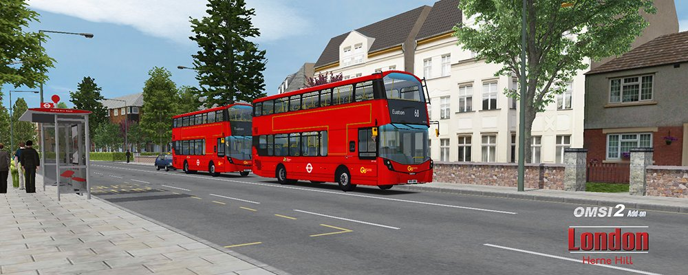 OMSI 2 - Add-On London (PC DVD): Amazon co uk: PC & Video Games