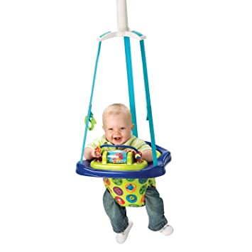 fcb32a8b4 Amazon.com   Baby Portable Doorway Jumper Jumping Exercise Play ...