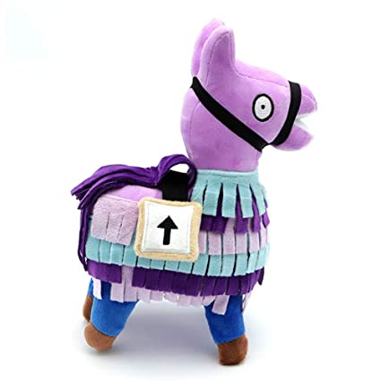 LZX Fortress Night Alpaca Treasure Box Peluche De Juguete Fortnite Juego Peripheral Dolls,25Cm
