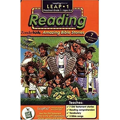 First Grade LeapPad Book: Amazing Bible Stories: Toys & Games