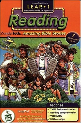 First Grade LeapPad Book: Amazing Bible -
