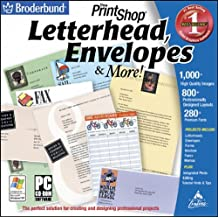 Printshop Letterhead and Envelopes (Jewel Case)