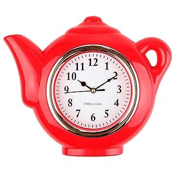 Lilyu0027s Home Teapot Kitchen Clock