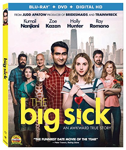 Blu-ray : The Big Sick (With DVD, 2 Pack, 2 Disc)