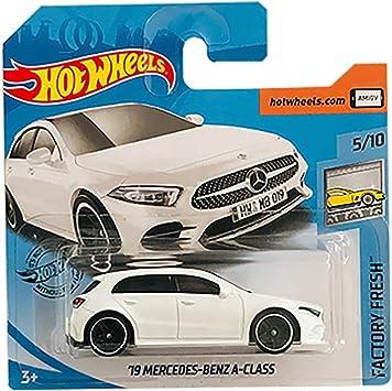 Hot Wheels 19 Mercedes Benz A Class Factory Fresh 5/10 2019 Short Card: Amazon.es: Juguetes y juegos