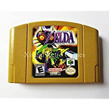 Original Limited Edition Nintendo N64 Game The Legend of Zelda Majora's Mask Video Game Cartridge Console Card US Golden Version Trendz2018