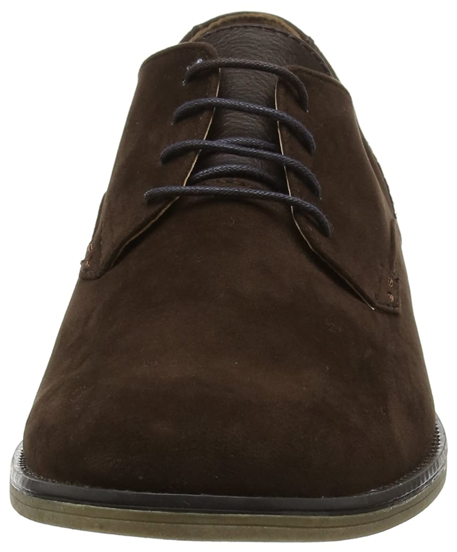 Malone, Zapatos de Cordones Derby para Hombre, Azul (Navy 100), 42 EU Burton Menswear London